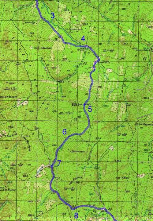 река инзер карта