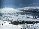 Фото 16. Во время спуска с Широкого Машака на Кузьелгинские Пастбища. Фото сделано примерного с того же места, что и предыдущее, но в 1992 году на слайд.