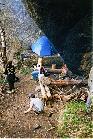 На одной из стоянок в Горном Ущелье