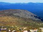 вид на плато Западного Плеча и хр. Зигальга во время подъёма на Бол. Иремель