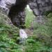 карстовый мост и водопад Куперля