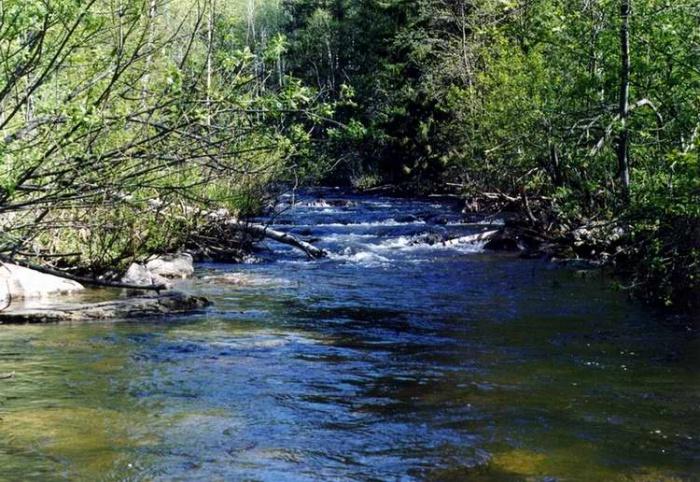 Таганай. Река Большая Тесма