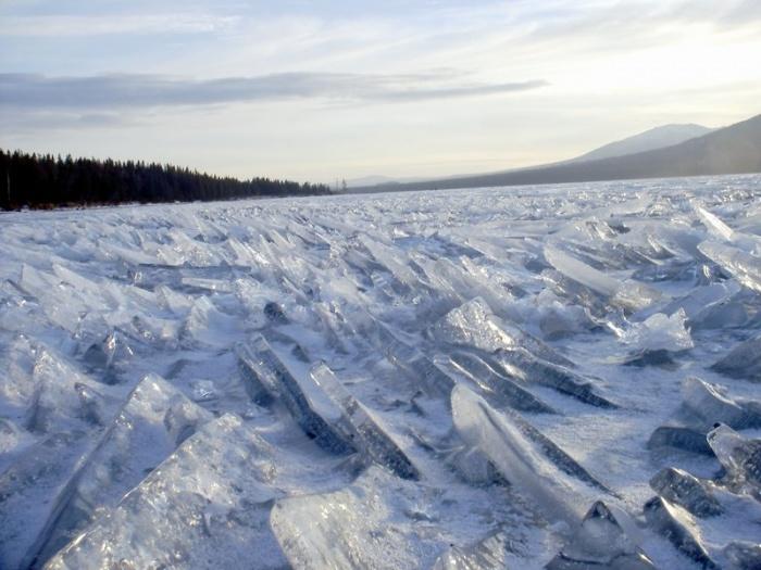 Зимы ледяные торосы