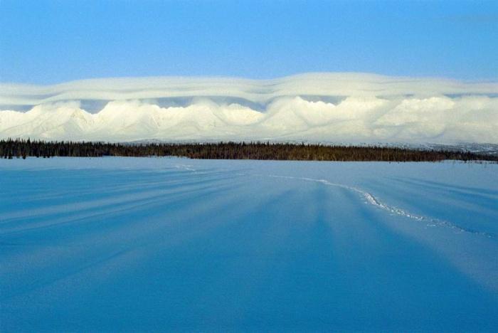 слоистые облака над Саблей -2