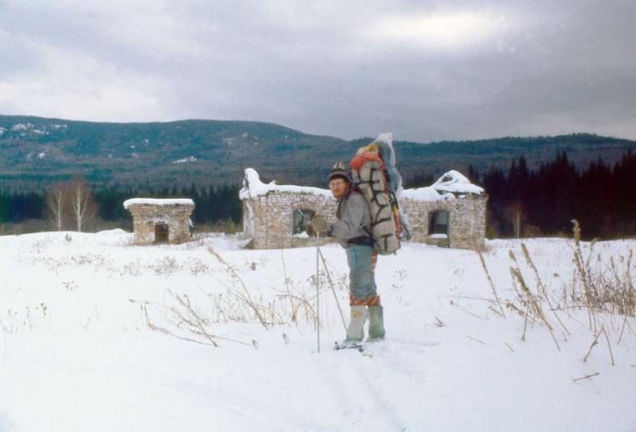 Развалины депо станции Юрюзанка.