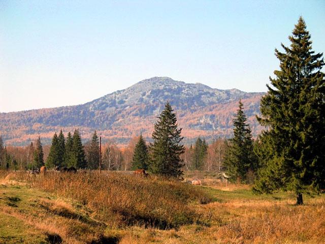 Бол. Кумардак (1318м) с Верхнеаршинска