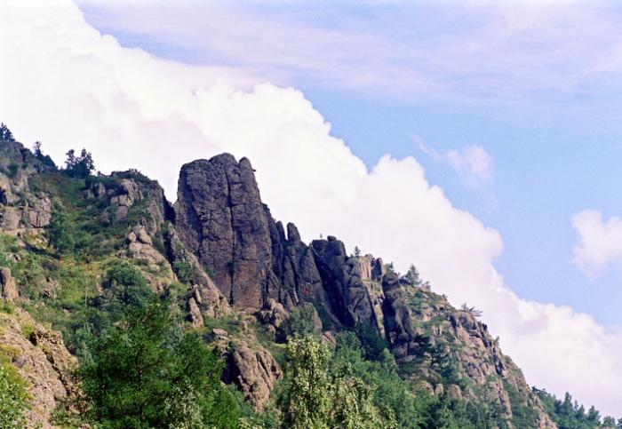 Скала Огурец
