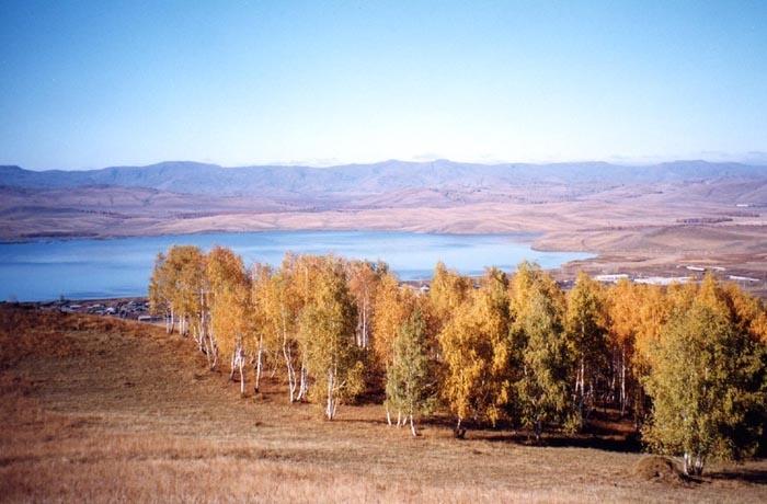 Вид на Крыктытау со стороны геологоразведки.