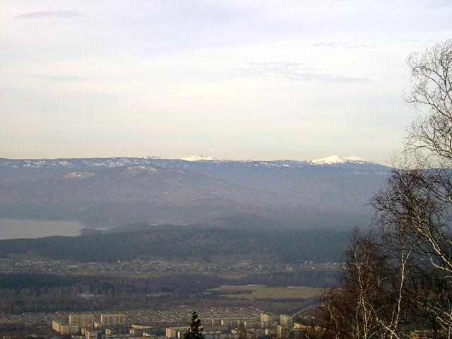 Вид на Таганай