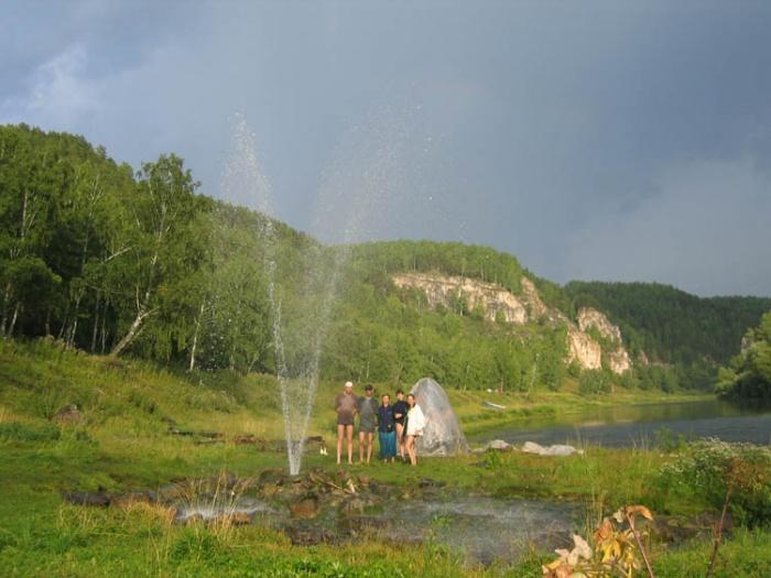 фонтан на Аю