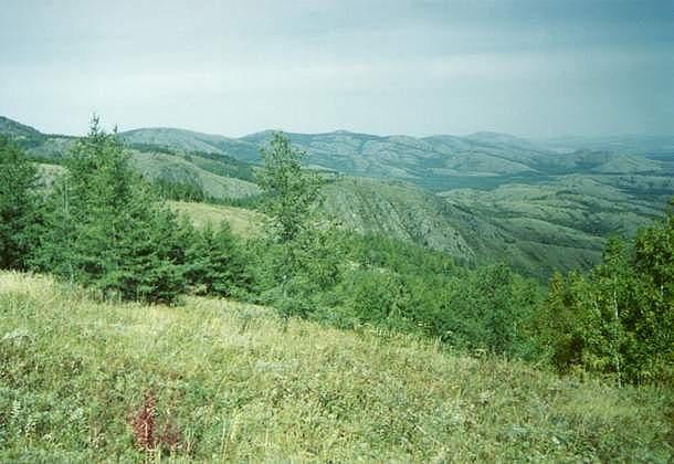 Восточные склоны Крыктытау