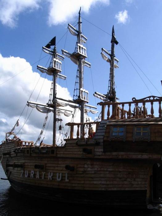Пиратский карабль