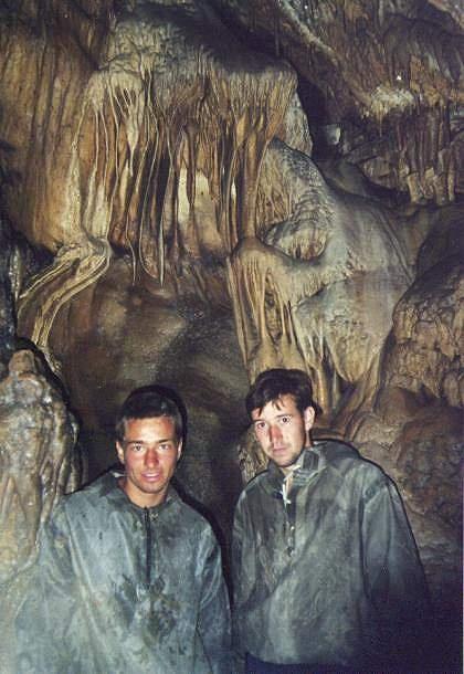 В Тимировской пещере