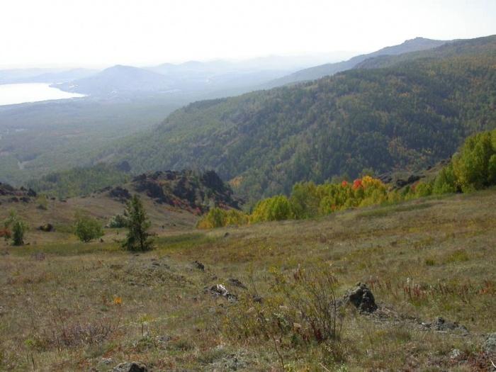 Юго-Восточный склон горы Кусимова