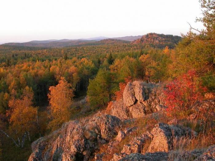 Рассвет на горе Кусимова