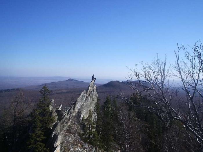 На вершине Круглой Сопки (1016)