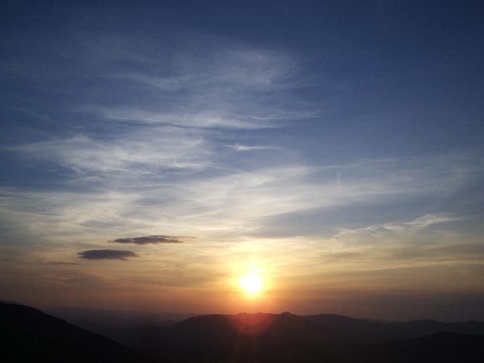 Закат над Уваном