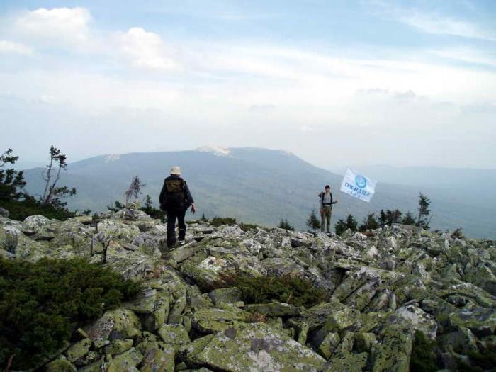 Вид на Дальний Таганай с .Круглица