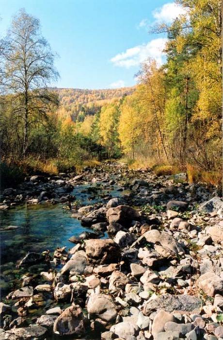 речка Курыгас