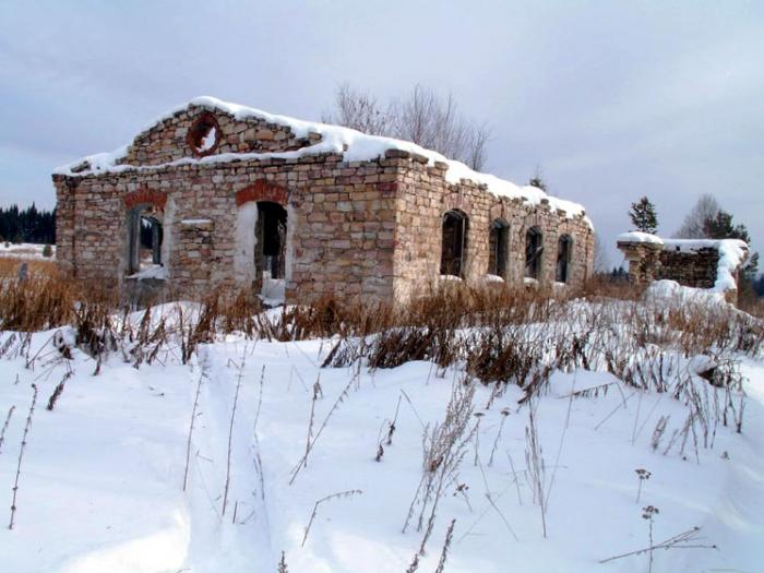 развалины вокзала станции юрюзань