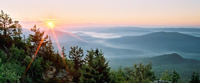 Рассвет на горе Малиновой