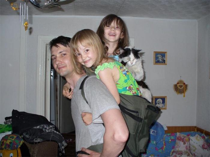 Испытание рюкзака