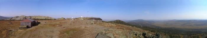 Панорама на Дальнем Таганае