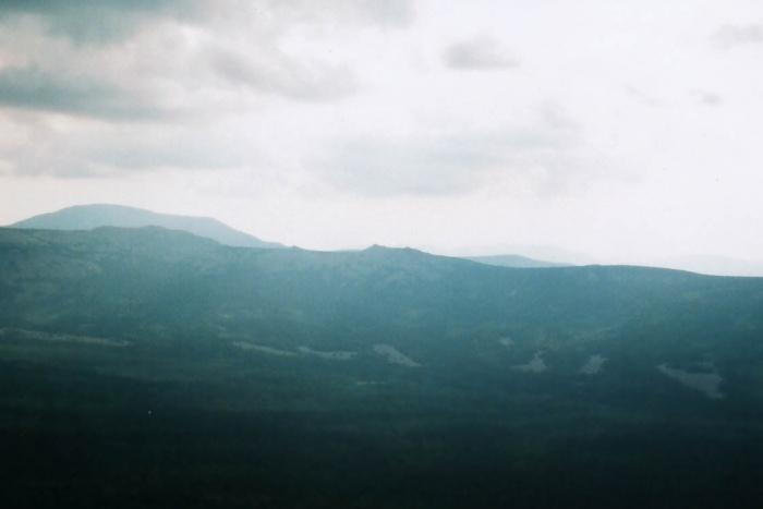 Каменные реки в долине Юрюзани