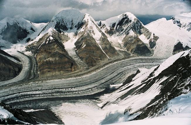 Ледник Северный Иныльчек.