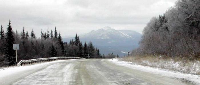 Начало зимы на Таганае