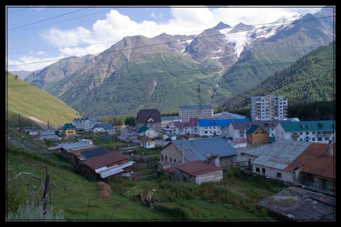 Поселок Терскол