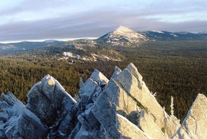 На вершине горы Кукуй (1116м)