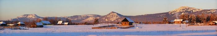 ещё одна панорама на Кумардак с Верхнеаршинского