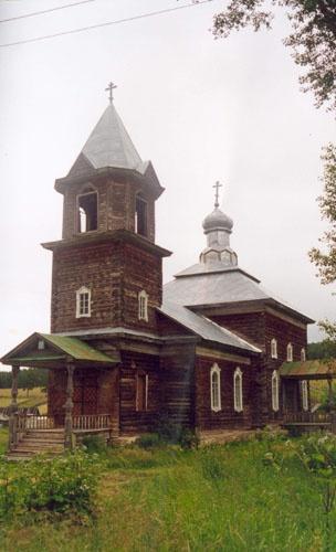 Метаморфозы (церковь в пос. Тюлюк)