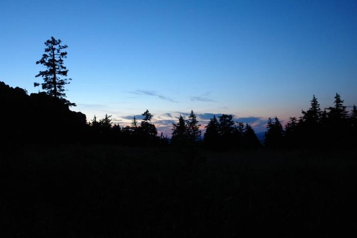 Таганай Восход на поляне.
