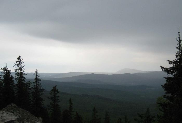Вид с горы Кирель