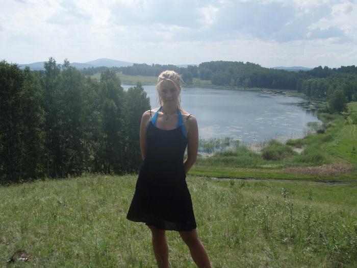 на озере Ворожевич...близ с. Вознесенского..