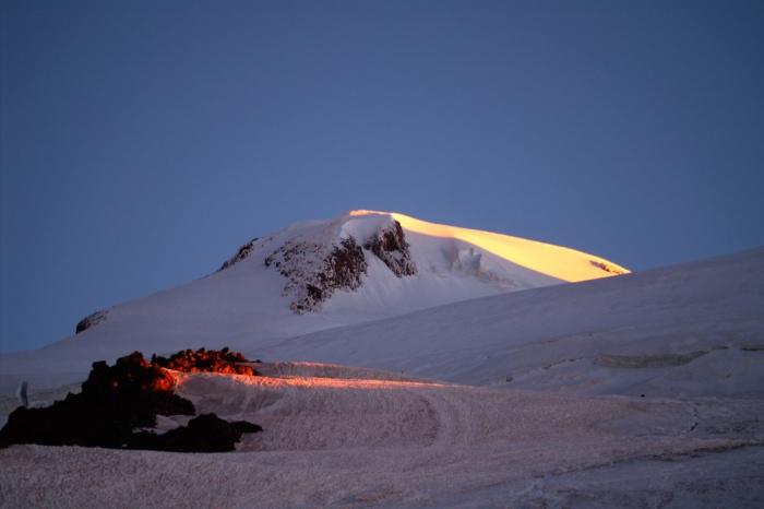 Западная вершина Эльбруса. август 2008