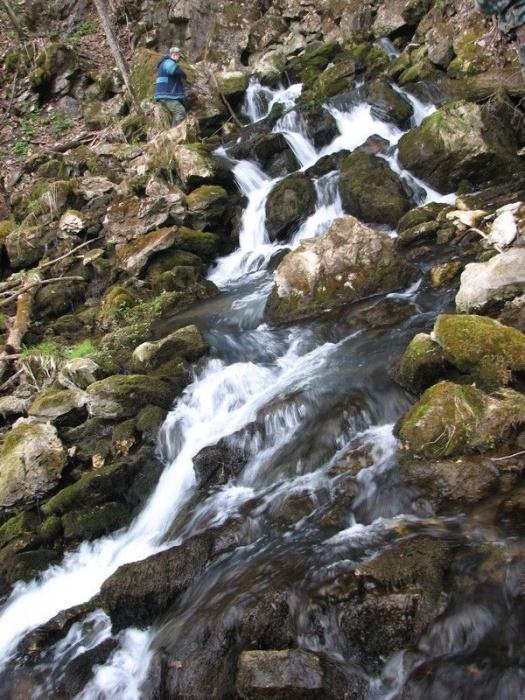 Водопад возле п. Икень
