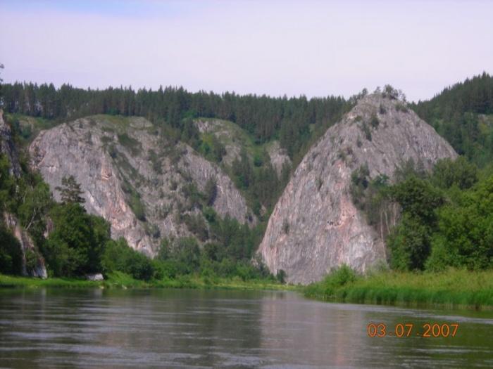 Один из видов на реке