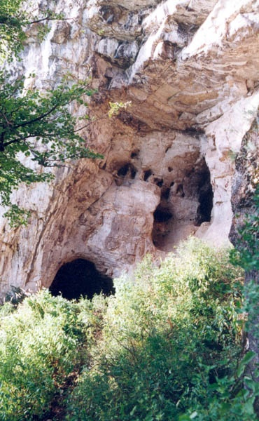 Айские пещеры. Входы и выходы