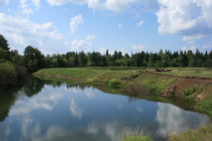Река Танып.