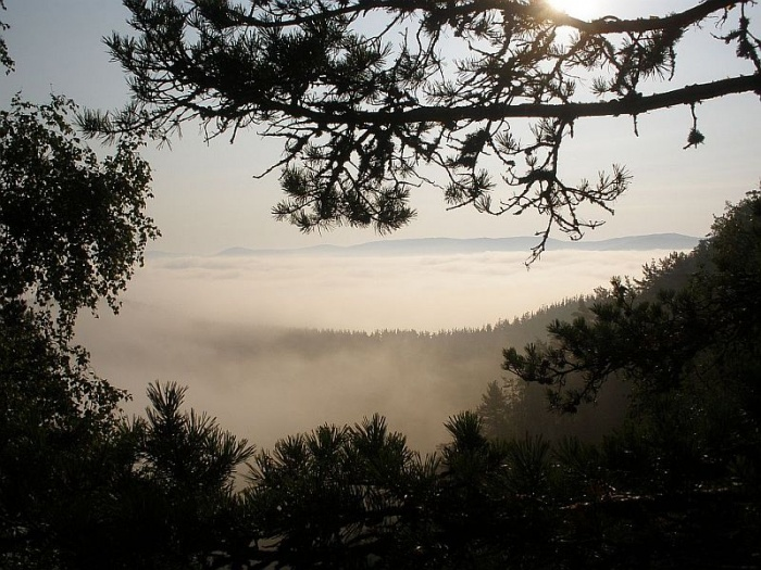 Туман над Кагой. Рассвет