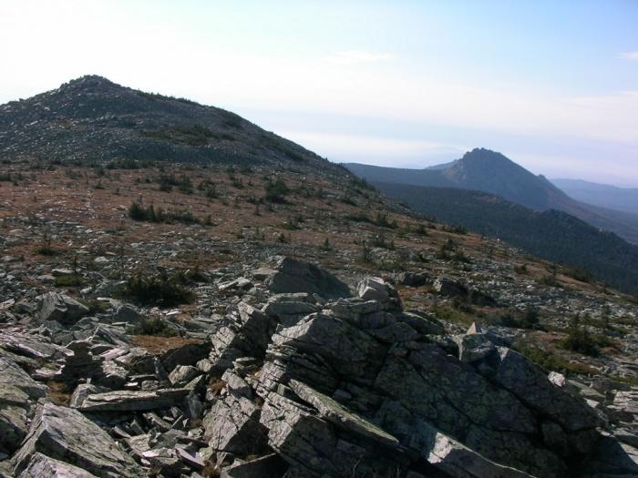 Вершинное плато г. Круглица