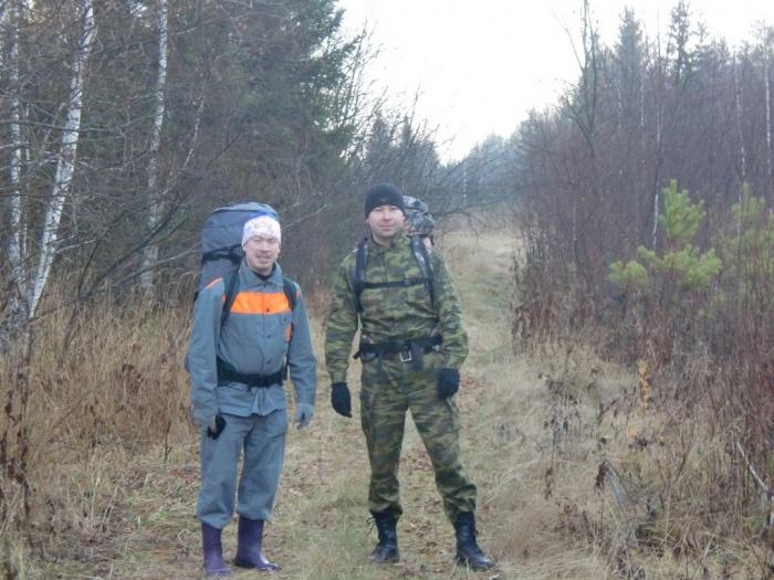 Павел и Руслан,  утро 13 октября 2013 г.