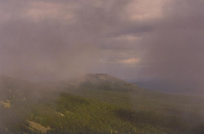 У подножия горы Трезубец