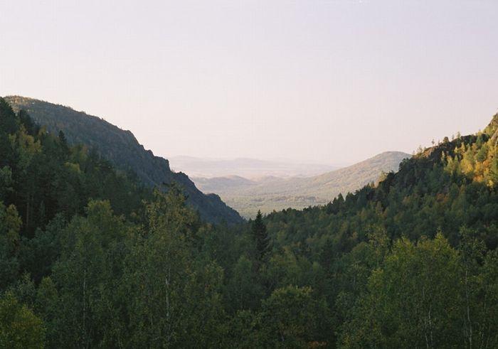 Утро в Горном Ущелье
