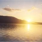 Чудо-закат на чудо-озере