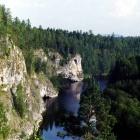 Река Серга.