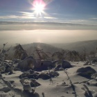 Морозное туманное спокойствие